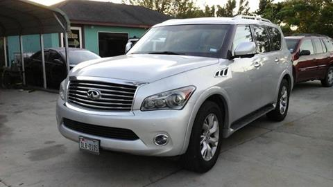 2012 Infiniti QX56 for sale at Express AutoPlex in Brownsville TX