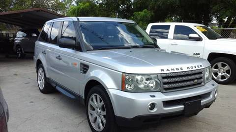 2008 Land Rover Range Rover Sport for sale at Express AutoPlex in Brownsville TX