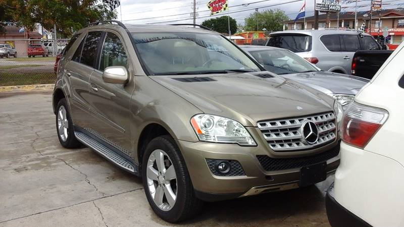2010 Mercedes Benz M Class Awd Ml 350 4matic 4dr Suv In Brownsville