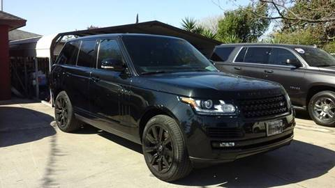 2015 Land Rover Range Rover for sale at Express AutoPlex in Brownsville TX