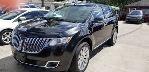 2015 Lincoln MKX for sale at Express AutoPlex in Brownsville TX