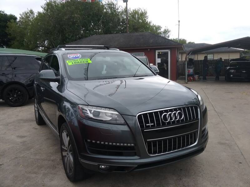 2014 Audi Q7 for sale at Express AutoPlex in Brownsville TX