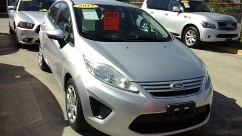 2012 Ford Fiesta for sale at Express AutoPlex in Brownsville TX