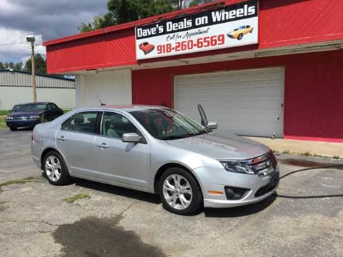 2012 Ford Fusion for sale in Tulsa, OK