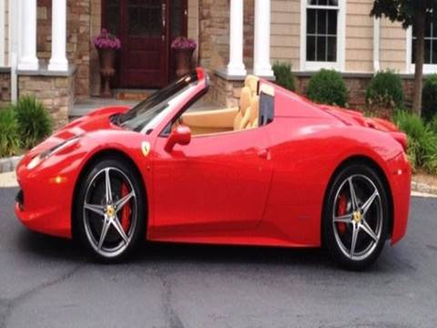 2015 Ferrari 458 Spider for sale in Albany, NY