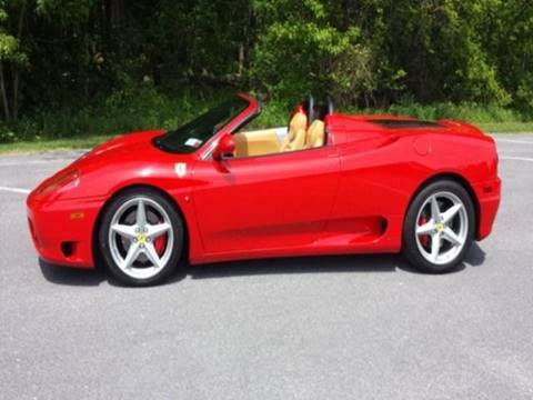 2003 Ferrari 360 Spider for sale in Albany, NY