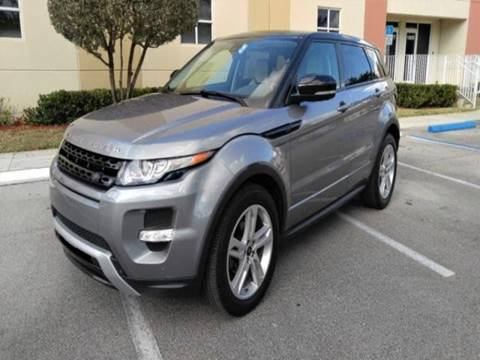 2013 Land Rover Range Rover Evoque for sale in Albany, NY