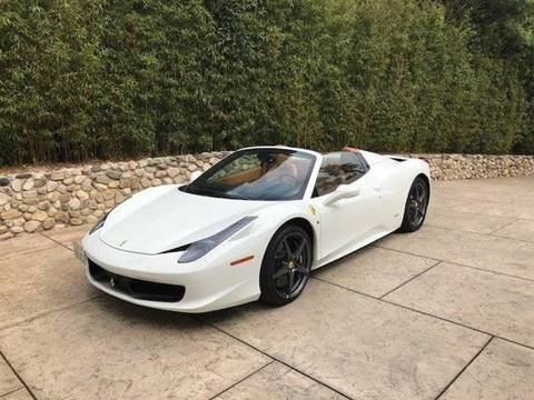 2014 Ferrari 458 Spider for sale in Albany, NY