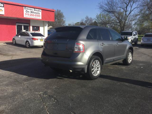 Ford Edge Sel Dr Crossover Tulsa Ok