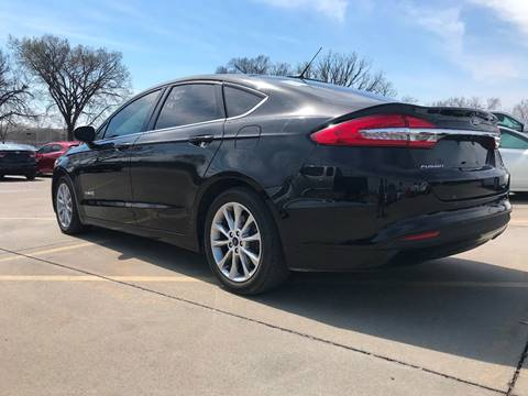 2017 Ford Fusion Hybrid for sale in Tulsa, OK