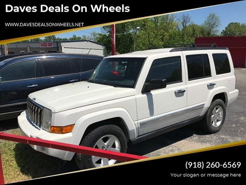 3 Row Jeep >> 2010 Jeep Commander For Sale In Tulsa Ok