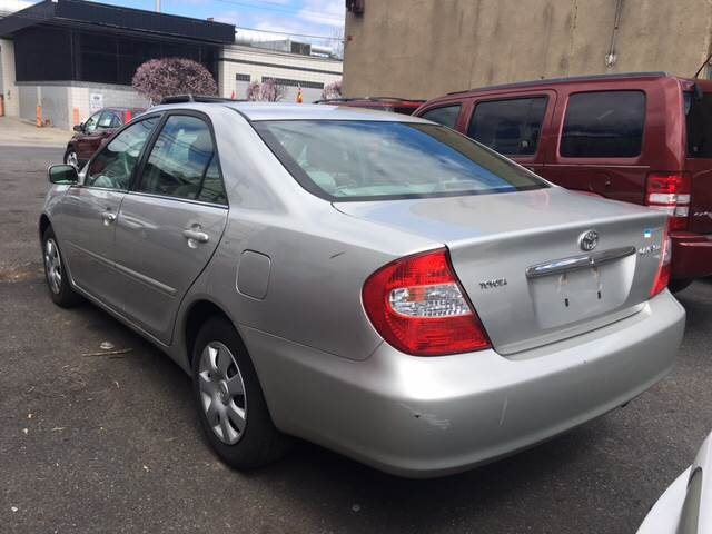 2004 Toyota Camry For Sale At Illinois Auto Sales In Paterson NJ