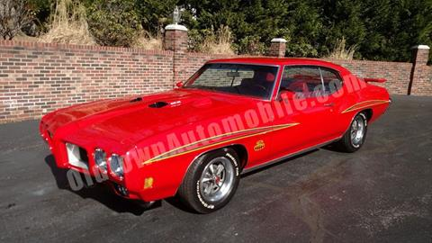 1970 Pontiac GTO for sale in Huntingtown, MD