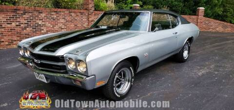 1970 Chevrolet Chevelle for sale at Old Town Automobile in Huntingtown MD