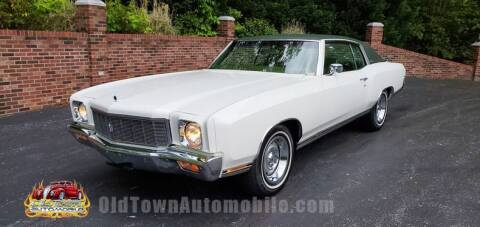 1971 Chevrolet Monte Carlo for sale at Old Town Automobile in Huntingtown MD