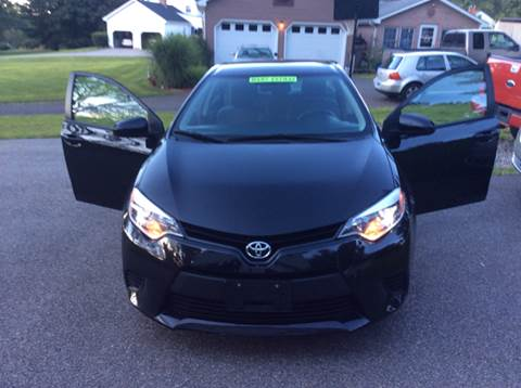2014 Toyota Corolla for sale in Manchester, CT