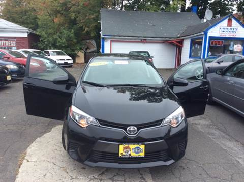 2015 Toyota Corolla for sale in Manchester, CT