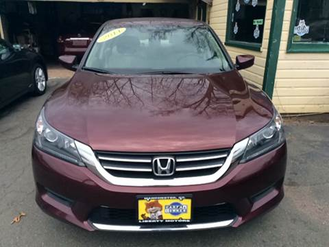2014 Honda Accord for sale in Manchester, CT