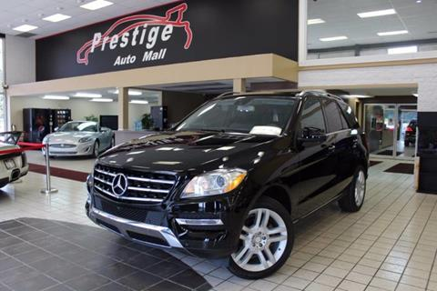 Mercedes benz m class for sale in ohio for Mercedes benz of north olmsted service