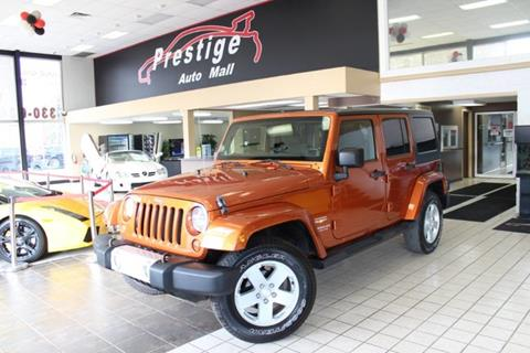 2011 Jeep Wrangler Unlimited for sale in Cuyahoga Falls, OH