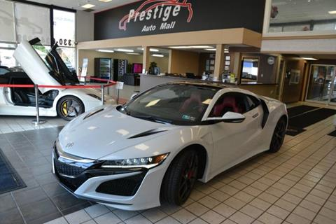 2017 Acura NSX for sale in Cuyahoga Falls, OH