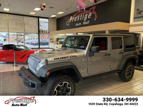 2013 Jeep Wrangler Unlimited for sale in Cuyahoga Falls, OH