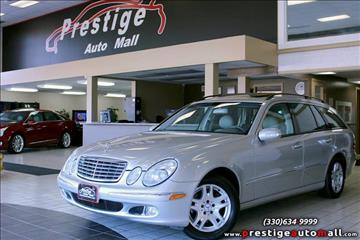 2004 Mercedes-Benz E-Class for sale in Cuyahoga Falls, OH