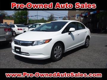 2012 Honda Civic for sale in Salem, MA