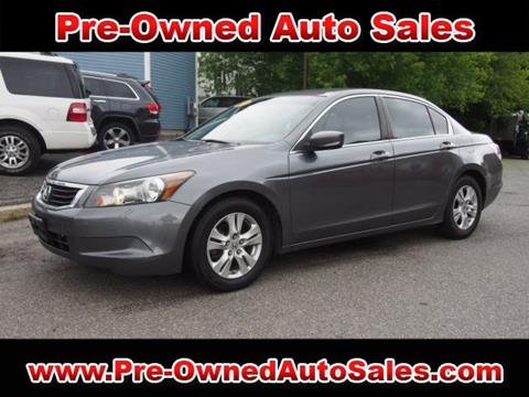 2010 Honda Accord for sale in Salem, MA