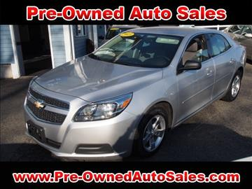 2013 Chevrolet Malibu for sale in Salem, MA