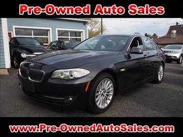 2013 BMW 5 Series for sale in Salem, MA