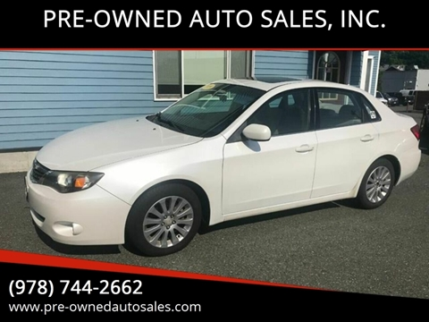 PRE-OWNED AUTO SALES, INC  – Car Dealer in Salem, MA