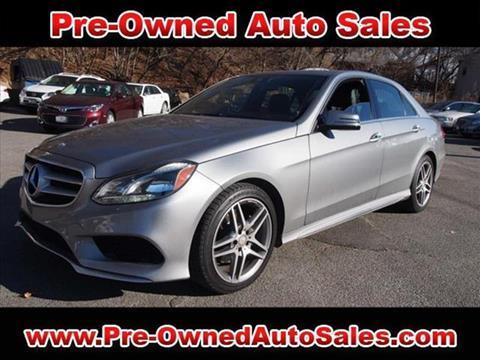 2014 Mercedes-Benz E-Class for sale in Salem, MA