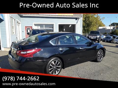 2016 Nissan Altima for sale in Salem, MA