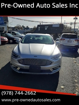 2017 Ford Fusion for sale in Salem, MA