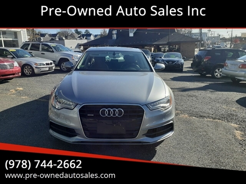 2013 Audi A6 for sale in Salem, MA