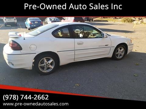 2000 Pontiac Grand Am for sale in Salem, MA