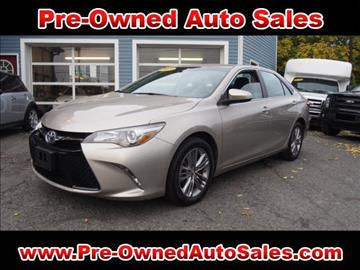 2015 Toyota Camry for sale in Salem, MA