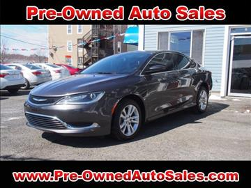 2015 Chrysler 200 for sale in Salem, MA