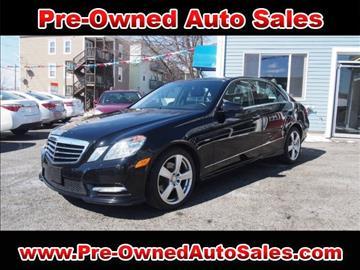 2012 Mercedes-Benz E-Class for sale in Salem, MA