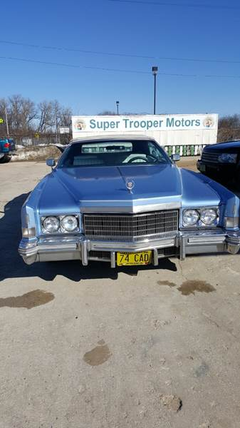1974 Cadillac Eldorado Convertible In Madison WI - Super Trooper Motors