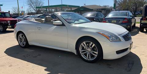 2009 Infiniti G37 Convertible for sale in Madison, WI