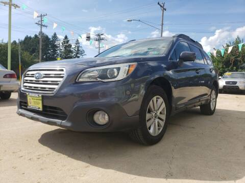 2015 Subaru Outback for sale at Super Trooper Motors in Madison WI