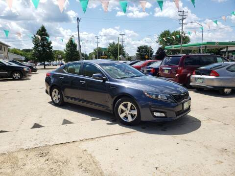2015 Kia Optima for sale at Super Trooper Motors in Madison WI