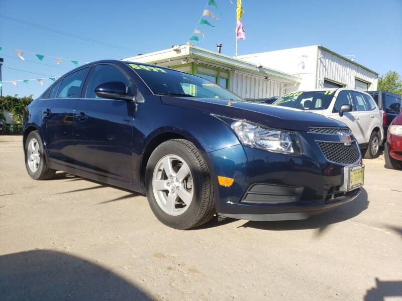 2014 Chevrolet Cruze for sale at Super Trooper Motors in Madison WI