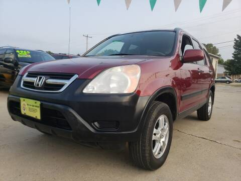 2002 Honda CR-V for sale at Super Trooper Motors in Madison WI