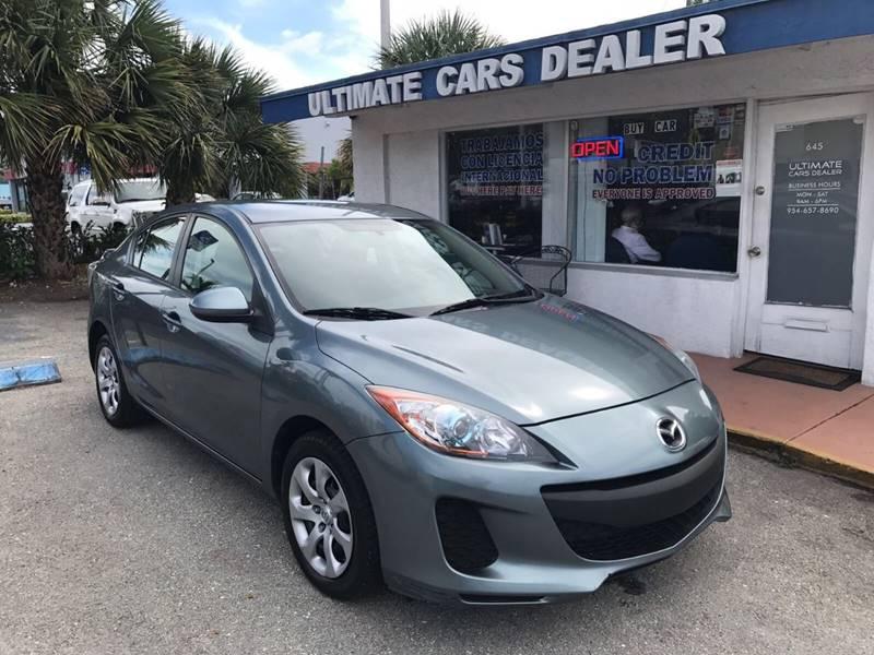 2013 Mazda MAZDA3 For Sale At ULTIMATE CARS DEALER In Margate FL