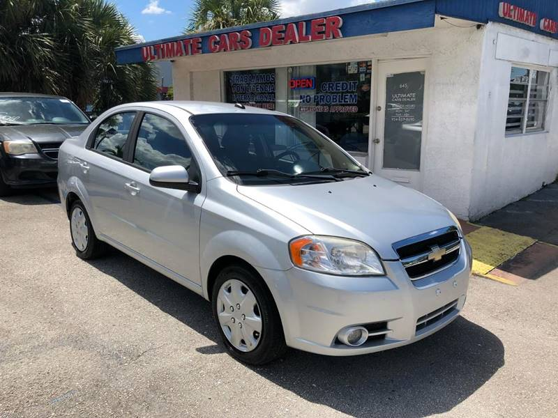 2011 Chevrolet Aveo For Sale At ULTIMATE CARS DEALER In Margate FL
