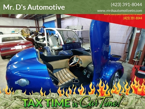 2002 Merlin  Roadster Built by Corbin for sale at Mr. D's Automotive in Piney Flats TN