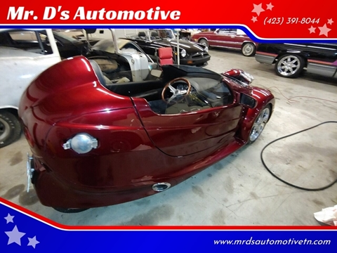2002 Merlin Corbin Roadster Merlin Corbin Roadster for sale at Mr. D's Automotive in Piney Flats TN